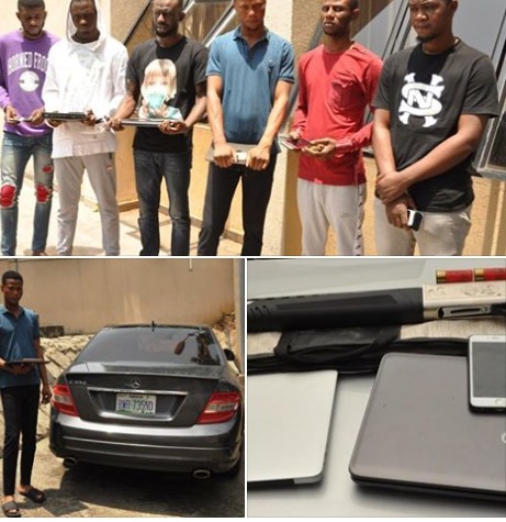 53 'Yahoo Yahoo' Boys Arrested In Lagos, Abuja And Enugu By EFCC In Massive Crackdown (Photos)