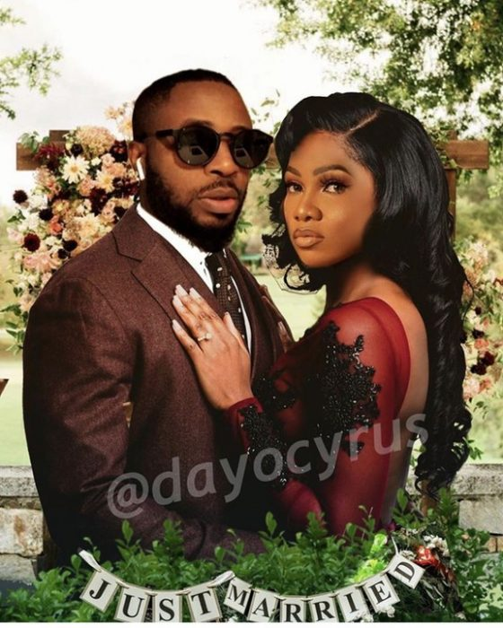 Tunde Ednut Reacts After A User Photoshopped His Image With Tacha